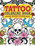 img - for Tattoo Coloring Book: A Fantastic Selection of Exciting Imagery (Chartwell Coloring Books) book / textbook / text book