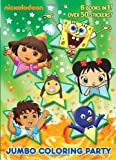 Jumbo Coloring Party (Nick Jr.) (Jumbo Coloring Book)