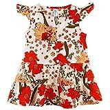 Oye Front Open Dress - Orange (12-18M)