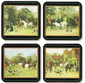 Pimpernel Tally Ho Placemats - Set of 4 (Large) - Place Mats