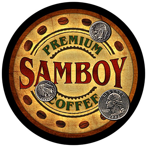 samboy-family-coffee-rubber-drink-coasters-set-of-4
