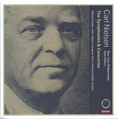 SACD : NIELSEN / GILBERT / NEW YORK PHILHARMONIC - Symphonies & Concertos (4 Discos)