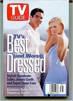 Tv Guide Aug 3-9 1996 Jennie Garth & Dean Cain: Tv Guide: Amazon.com