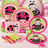 LadyBugs: Oh So Sweet 1st Birthday Standard Party Pack for 16