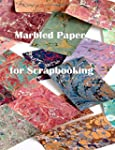 Marbled Paper for Scrapbooking