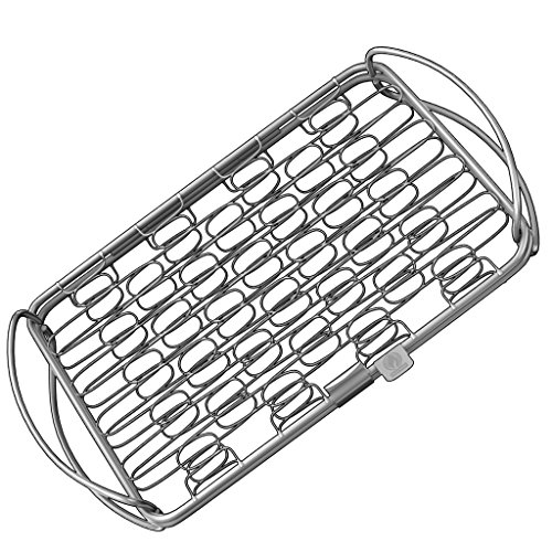 Fish grill basket sm perfect for large thick fishes for Cooking fish in dishwasher