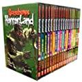 Goosebumps Horrorland Series Collection R L Stine 18 Books Box Set (Revenge of the Living, Creep of the Deep, Monster Blood for Breakfast, The Scream of the Haunted Mask, Dr Maniac VS Robby Schwartz, Who's Your Mummy?, My Friends Call Me Monster etc)