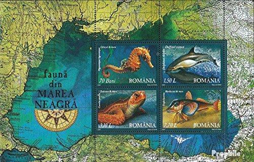 Rumänien Block393 (kompl.Ausg.) 2007 Fauna des Schwarzen Meeres (Briefmarken für Sammler)