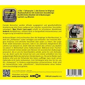 Andorra, 2 CDs, komplett gespielt im Original, mit zusätzlichen Erläuterungen (Entdecke.