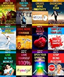 img - for 12 books in 1 - Happiness, Self-Esteem, Personal Growth, Stress Management, Self-Help, Mindfulness & Meditation, Body-Mind-Spirit, Motivational & Inspirational, ... How To Feel Good, How To Heal Yourself) book / textbook / text book