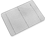Top Rated Bellemain Cooling Rack - Baking Rack , Chef Quality 12 inch x 17 inch - Tight-Grid Design ,Oven Safe, Fits Half Sheet Cookie Pan