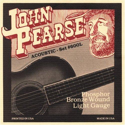 John Pearse 600L Phosphor Bronze Acoustic Guitar