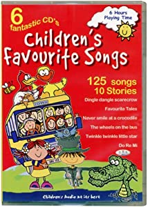 Children's Favourite Songs 6 CD set