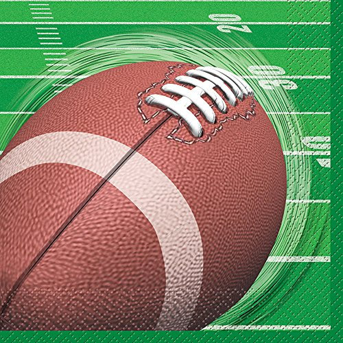 Football Party Beverage Napkins, 16ct (Football Beverage Napkins compare prices)