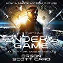 Ender's Game: Special 20th Anniversary Edition (       UNABRIDGED) by Orson Scott Card Narrated by Stefan Rudnicki, Harlan Ellison