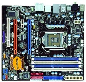ASRock LGA1156/ Intel P55/ DDR3/ Quad CrossFireX/ A&GBE/ MATX Motherboard  P55M PRO