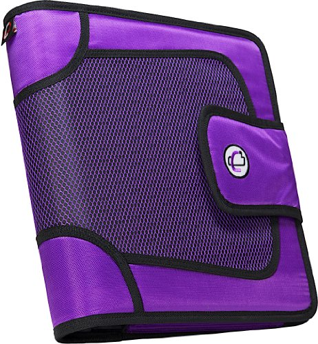 case-it-open-tab-velcro-closure-2-inch-binder-with-tab-file-purple-s-816-pur