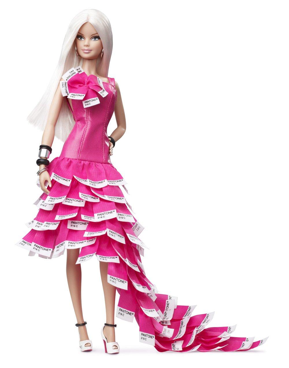 Barbie Collector # W3376 Pink in Pantone als Geschenk
