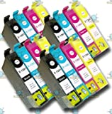 16 Chipped Compatible Epson T1291 T1292 T1293 T1294 T1295 Apple Multipack Ink Cartridges for SX425W