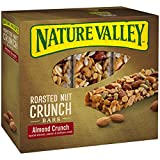 Nature Valley Gluten Free Almond Crunch Roasted Nut Crunch Bars, 6 Count (Pack of 6)