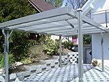 AKTION Aluminium Carport LUXOR RAL 9016 weiß...