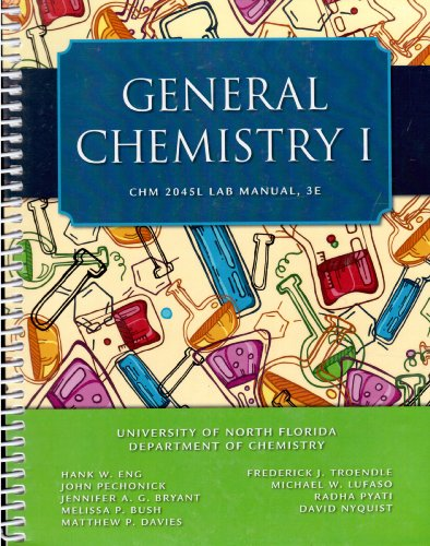first year chemistry lab manual