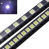 Nrthtri smt 50 PCS 2W 6V 3535 Cool White LED Light Beads for LG TV Backlight Repair Application Many Protection