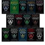 """The Wheel of Time, 13 Books Collection Set by Robert Jordan. (The Eye of the World, The Great Hunt, The Dragon Reborn, The Shadow Rising, The Fires of Heaven, Lord of Chaos, A Crown of Swords, The Path of Daggers, Winter's Heart, Crossroads of Twilight, K"" av Robert Jordan"
