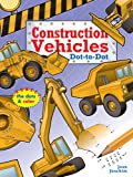 img - for Construction Vehicles Dot-to-Dot book / textbook / text book