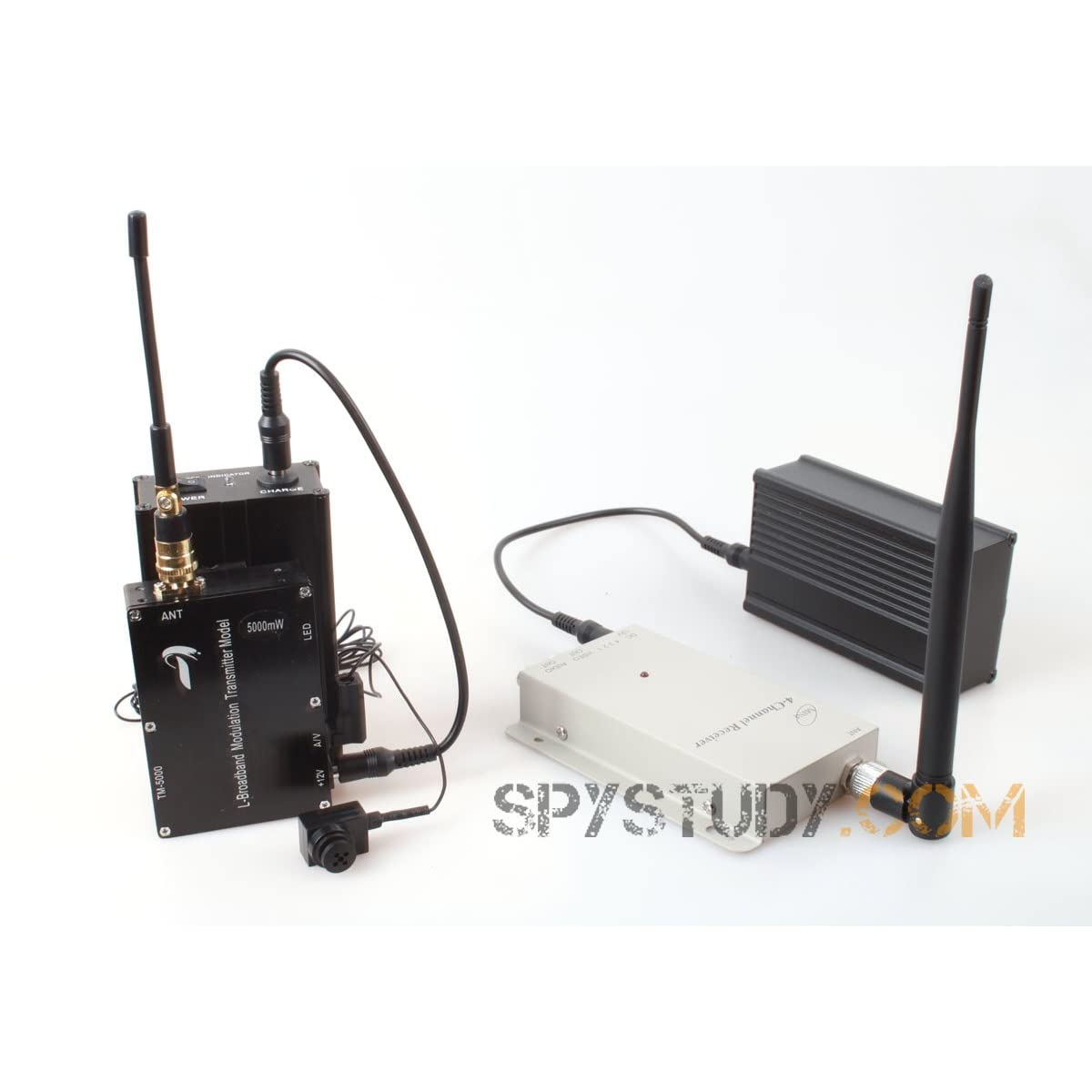 Wireless hidden spy camera-live transmission-over 1000 meter ran
