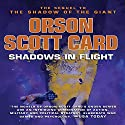 Shadows in Flight Audiobook by Orson Scott Card Narrated by Stefan Rudnicki, Emily Janice Card, Scott Brick, Orson Scott Card, Kirby Heyborne