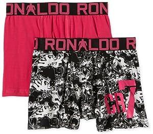 CR7 8400-51-442 Cristiano Ronaldo - Calzoncillos trunk para joven (2 unidades) por CR7 CRISTIANO RONALDO