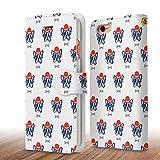 iPhone 6/6s 4.7 おしゃれなデザイン手帳型ケース (フレンチブルドッグ)