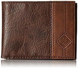 Columbia Men\'s RFID Blocking Jax Silmfold Wallet, Brown, One Size