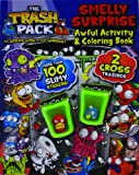 The Trash Pack Smelly Surprise Awful Activity & Coloring Book