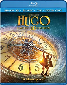 Hugo (Blu-ray 3D + Blu-ray + DVD + Digital Copy)
