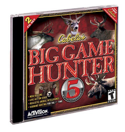 Cabela's Big Game Hunter 5 (Jewel Case)
