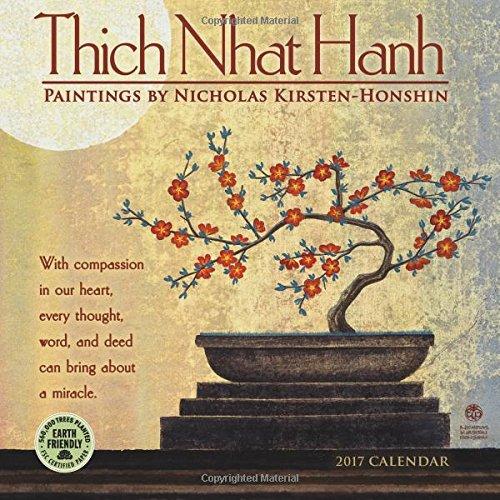 Thich Nhat Hanh 2017 Mini Wall Calendar