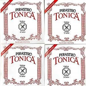 バイオリン弦 PIRASTRO TONICA トニカ(NEW) 4/4サイズ 4弦セット