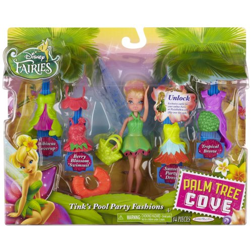 Disney Fairies Tink with Pool Inspired Fashion Doll and Accessories