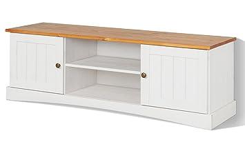 Diseño de estilo de vida 551062 mueble para EMMA, 45 x 40 x 140 cm, madera de pino, color miel