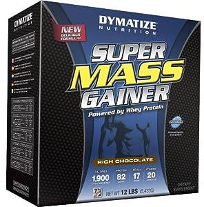 Dymatize Super Mass Gainer Rich Chocolate - 12 lbs (5443 g)