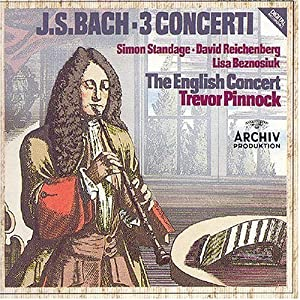 Bach Concertos For Solo Instruments from Deutsche Grammophon