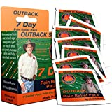 Pain Relief 7 Pack By Outback®: Topical Pain Reliever Chosen by Sufferers of Arthritis, Joint Pain, Muscle Pain, Nerve Pain, Back Pain, etc   All-Natural [Seven 3mL Sachets]