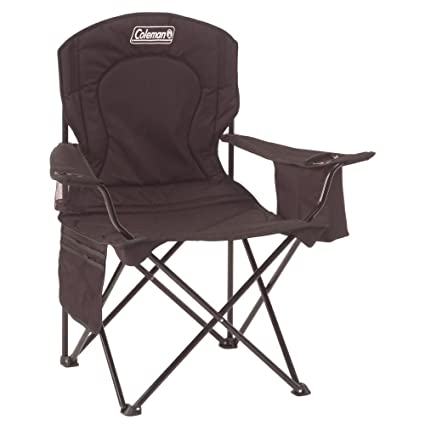 AmazonSmile : Coleman Oversized Quad Chair with Cooler : Camping Chair : Sports & Outdoors
