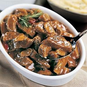 Omaha Steaks 1 (18 oz. tray) Beef Sirloin Tips With Mushroom And Wine Sauce