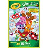 CRAYOLA MOSHI MONSTERS 18 GIANT COLORING PAGES NEW by Crayola