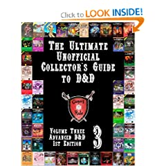 The Ultimate Unofficial Collector's Guide to D&D: Volume Three: Advanced D&D 1st Edition by James Hunton and Deborah Hunton