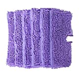 KIPTOP Replacement Duster Pads Suitable for Shark Pocket Steam Mop S3501 (Pack of 6) (6 purple)