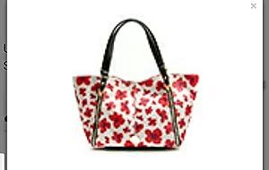franco sarto handbag petal print